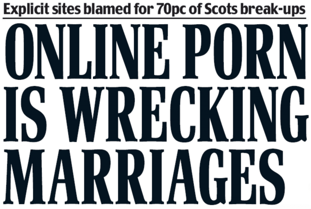Headline Scottish Daily Mail