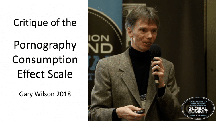 Gary Wilson's critique of the Pornography Consumption Effect Scale Hald and Malamuth 2008