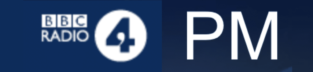 Logo Radio 4 PM 1 April 2019