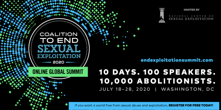 2020 Coalition to End Sexual Exploitation Online Global Summit