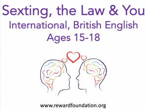 Sexting, the Law & You (International, British English) Ages 15-18
