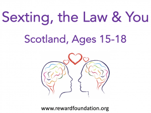Sexting, the Law & You (Scotland) Ages 15-18