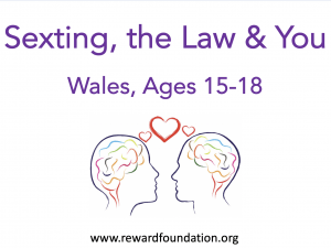 Sexting, the Law & You (Wales) Ages 15-18