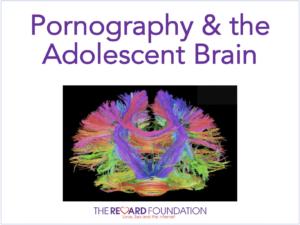 Pornography adolescent brain