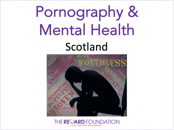 Pornography mental health Scottish